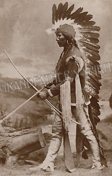 A Taos Pueblo Chief