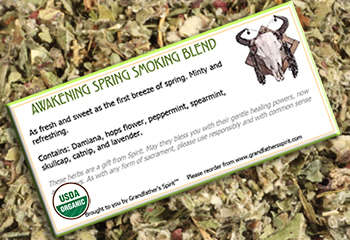 Awakening Spring Smoking Blend