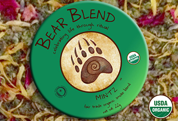 Bear Blend Mintz - Smoking Mix