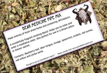 Bear Medicine Pipe Mix