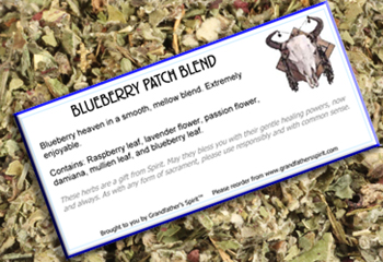 Blueberry Patch Smoking Blend