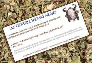 Old Cherokee Smoking Mix