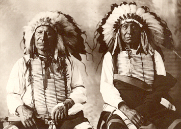 Red Cloud and American Horse