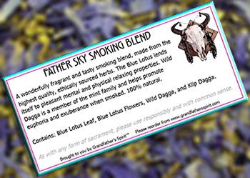 Father Sky Smoking Blend