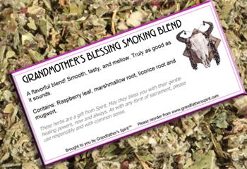 Grandmother's Blessing - Smoking Blend