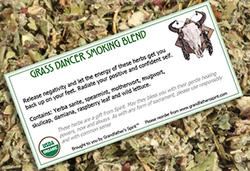 Grass Dancer Smoking Blend