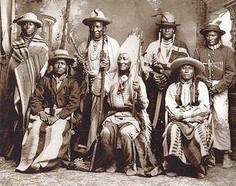 Chief Washakie and Chiefs