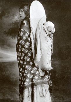 Kootenai Woman and Child
