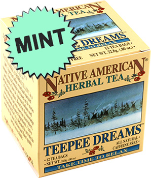 Teepee Dreams Mint Tea