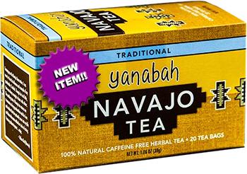 Yanabah Traditional Navajo Tea