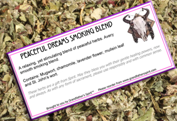 Peaceful Dreams Smoking Blend