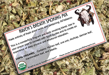 Raven's Breath Smoking Mix