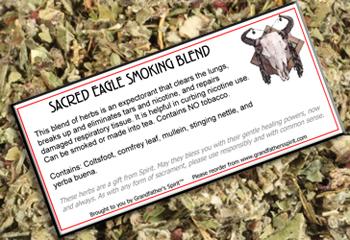 Sacred Eagle Smoking Blend