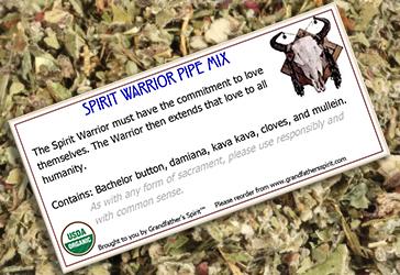 Spirit Warrior Pipe Mix