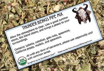 Thunder Beings Pipe Mix