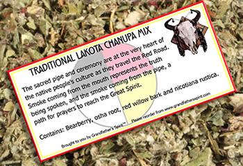 Traditional Lakota Chanupa Mix