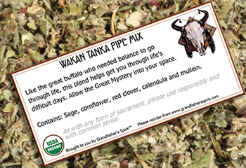 Wakan Tanka Pipe Mix