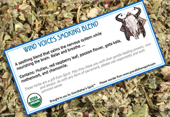 Wind Voices Smoking Blend