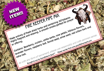 Fire Keeper Pipe Mix
