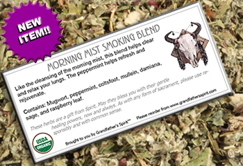 Morning Mist Smoking Blend
