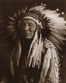 Chief in Full Headdress