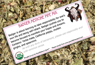 Badger Medicine Pipe Mix
