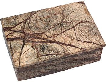 Natural Marble Brown Box