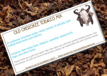 Old Cherokee Tobacco Mix