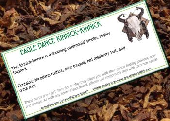 Eagle Dance Kinnick-kinnick