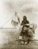 In a Blackfoot Camp