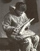 Eskimo Ivory Carver