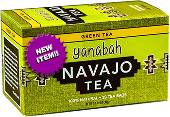 Yanabah Navajo and Green Tea