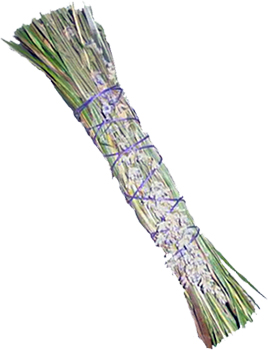 Sweetgrass and Lavender Smudge Stick