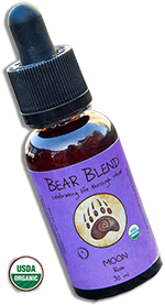 Bear Blend Liquid Herbz - Rose Flavor