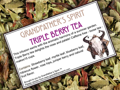 Triple Berry Tea