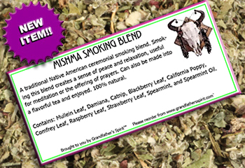 Mishma Smoking Blend-100% Herbal Smoking Blends-Tobacco